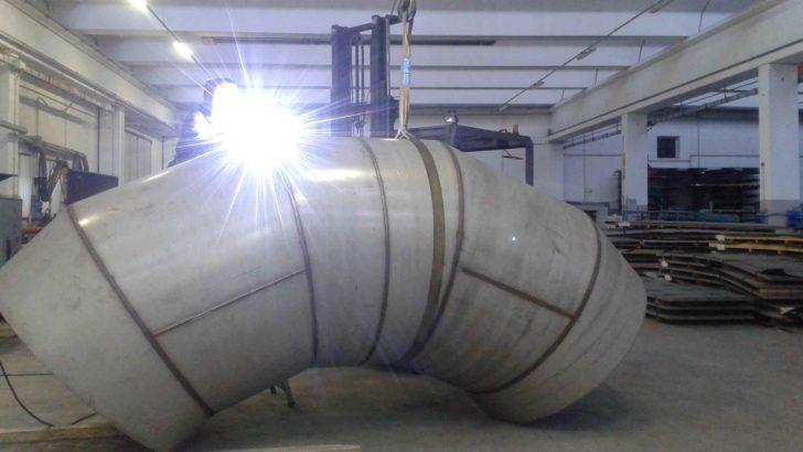 curve a saldare - curve saldate in acciaio inox - foto1